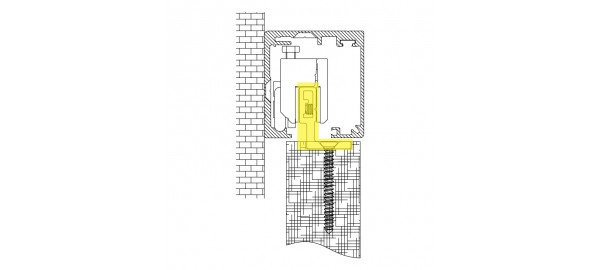 MINIMAL / Набір для монтажу дерев'яних дверей