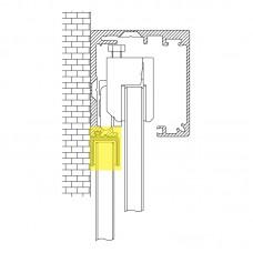 MINIMAL / Набір для бокового фіксованого скла / F9