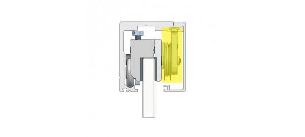 MINIMAL /  Набір  для синхронного руху подвійних дверей